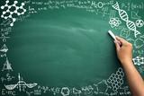 Fototapety math on blackboard