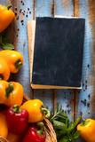 art Vegetables on wood - 92104374
