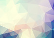Vector abstract soft blue pink triangles background