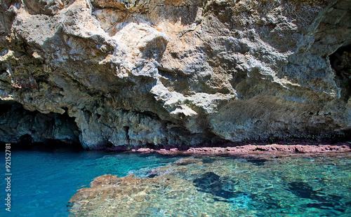 Staande foto Cathedral Cove Grotte di Leuca, Puglia, Italy