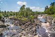 View of the St. Louis River in Jay Cooke State Park in Minnesota