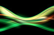 Abstract Light Green Background Design