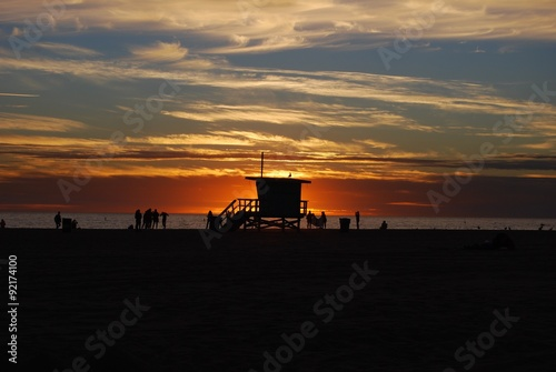 Sonnenuntergang Kalifornien