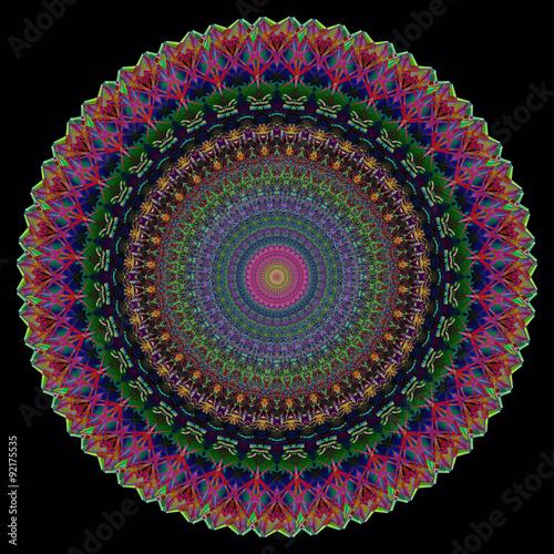 Plakat Mandala - yantra - Sfondo digitale