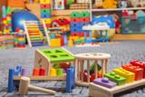 Fototapety wooden colour toys