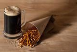 композиция с пивом