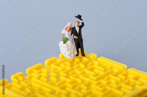 Poster 結婚と迷路