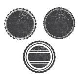 grunge stamp black templeta vector with textures - 92358925