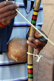 Berimbau, stringed instrument of Angolan origin