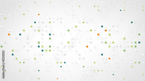 extruded squares abstract background