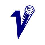 Volley Ball Blue Logo