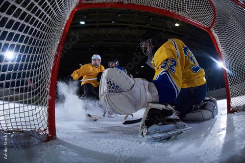 obraz PCV ice hockey goalkeeper