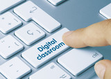 Fototapety Digital classroom