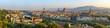 Quadro Florence city skyline panorama - Florence - Italy