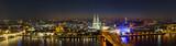 Fototapety Köln nacht Skyline Panorama