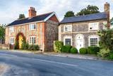 Fototapety Flint Cottages in Norfolk