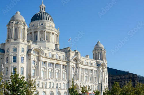 Poster The port of Liverpool building