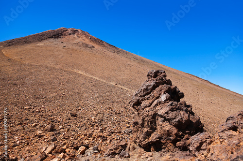 Papiers peints Cappuccino Volcano Teide in Tenerife island - Canary Spain