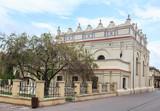 Synagoga w Zamościu, ulica Zamenhofa 9 - zbudowana w latach 1610-1618. Jest to najlepiej zachowana synagoga późnobarocjalna w Polsce