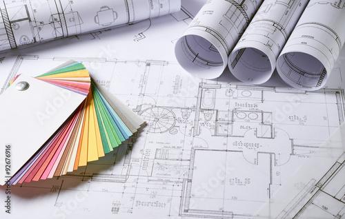 Fridge magnet Architecture plans