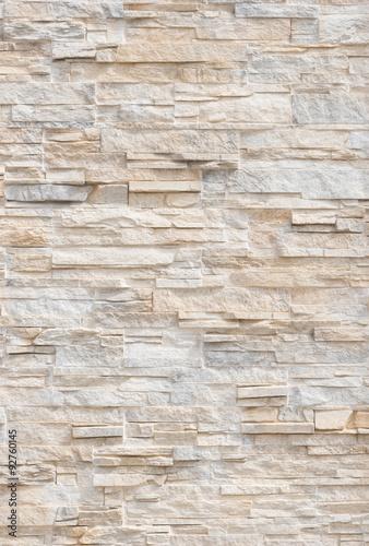 Moderne Steinmauer Textur Hintergrund  - 92760145