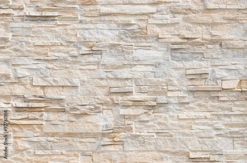 Fototapeta Stein Fliesen Steinmauer Modern