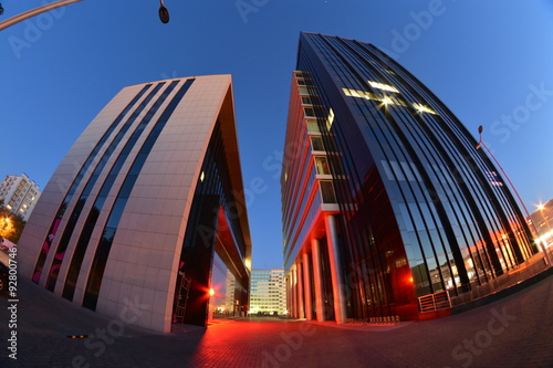 Fototapety, obrazy : Lublin city night view
