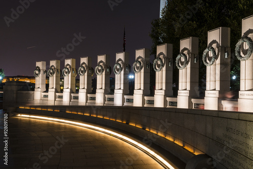 Poster World war II monument