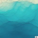 Fototapety Water Surface. Wavy Grid Background. Mosaic.