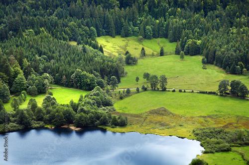 Deurstickers Bergen Schwarzwald