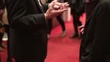 Animated gestures of businessmen