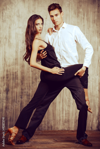 obraz lub plakat tango dance