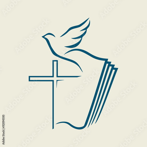 dove cross open bible icon buy photos ap images detailview