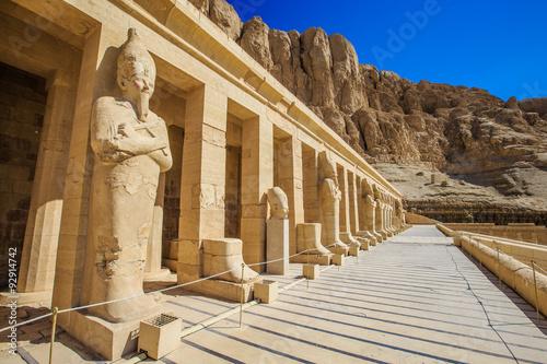 Poster Egypte temple of Hatshepsut