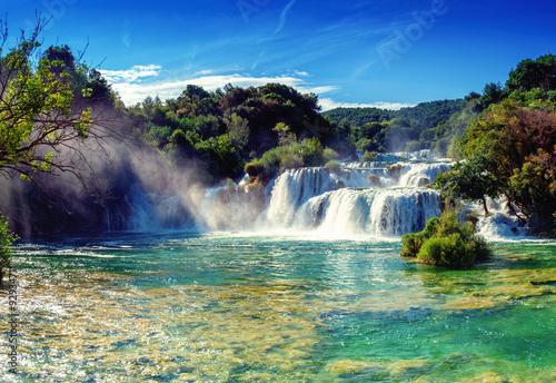 Waterfalls Krka - 92934711