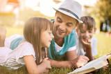 Fototapety education, family concept