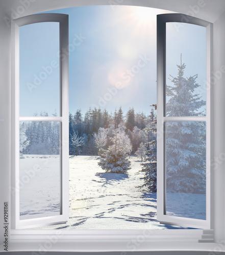 gamesageddon kerzenlicht auf einem holztisch am fenster vor verschneitem winterwald. Black Bedroom Furniture Sets. Home Design Ideas