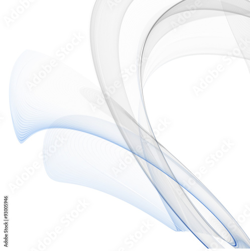 Staande foto Abstract wave Smoke background