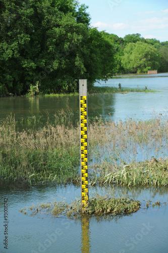 Leinwandbild Motiv Hochwasser 13