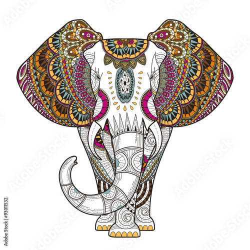 Plakat graceful elephant