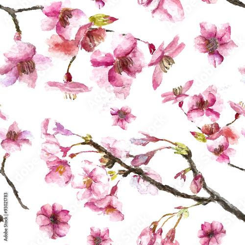 recznie-rysowane-wisniowe-kwiaty-wzor