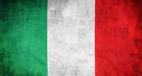 Fototapety flag italy