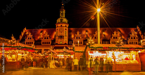 Lipsk Weihnachtsmarkt