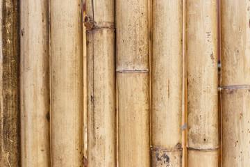 Old brown bamboo background © banprik