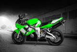 Fototapeta Teenage - Top Speed (Green) © BJFF