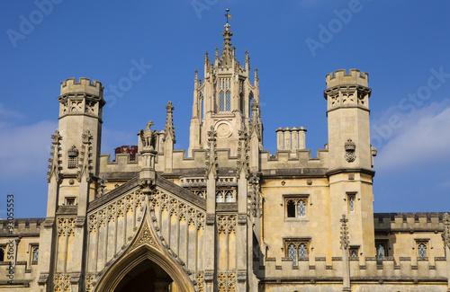 St. John's College in Cambridge Photo by chrisdorney