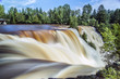 The steady and powerful flow of Kakabeka Falls in Thunder Bay.