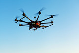 Quadcopter, copter, drone poster