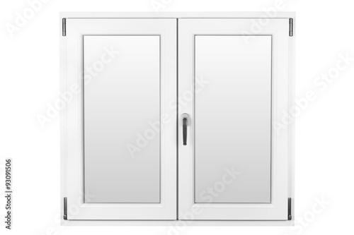 White closed window - 93091506