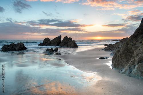 Sunset at Freathy beach © Helen Hotson